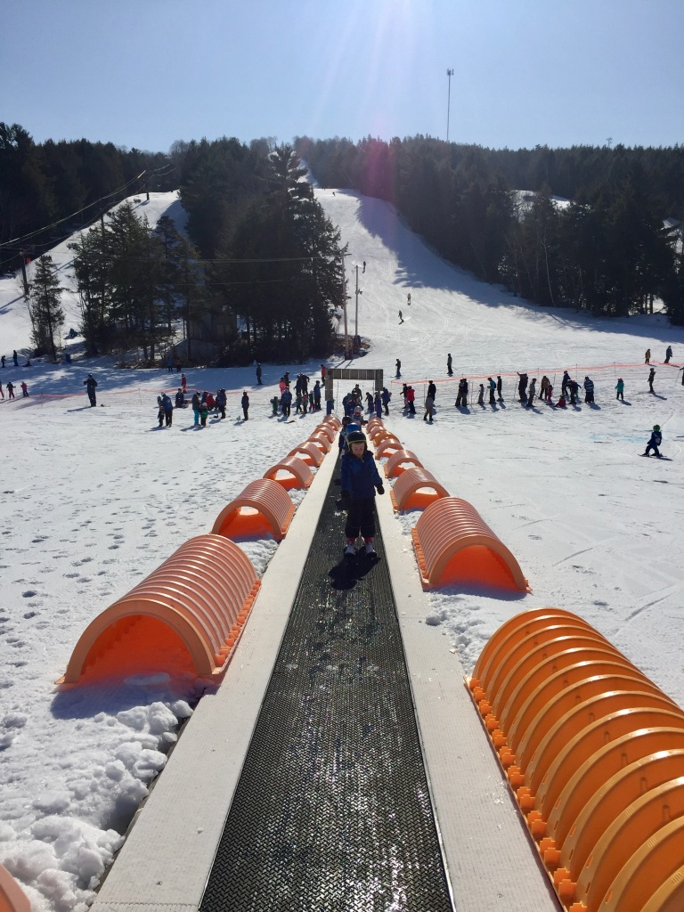 February 2020 - Martock Ski Hill - Back on the Magic Carpet!