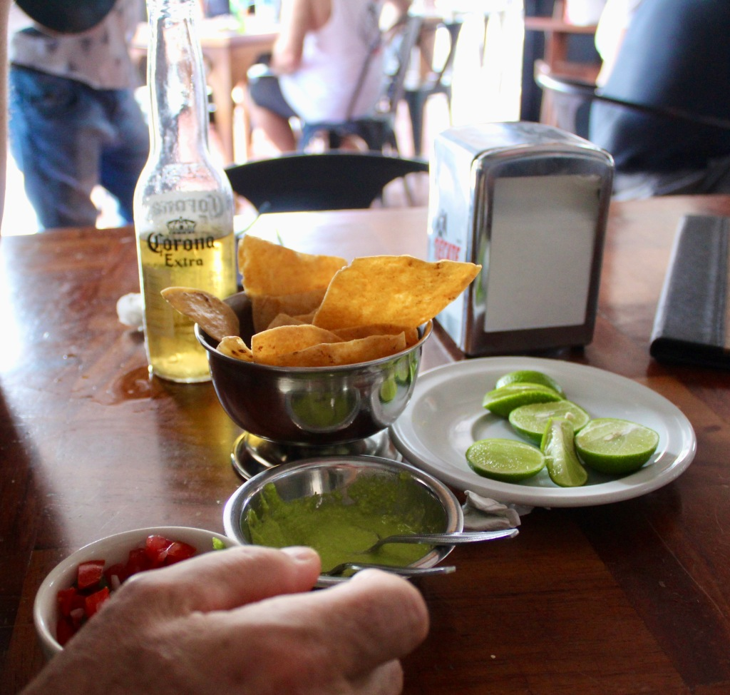 2020 - New Year's Day - Huatulco, Mexico - Xipol Restaurant - Free snacks