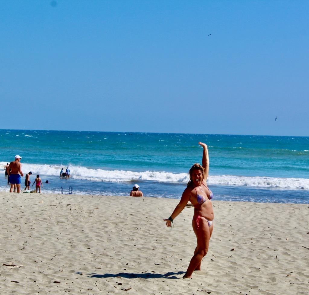 2020 - January 2nd - Huatulco, Mexico - La Bocana Beach - Woohoo!!! Life is Awesome!!!