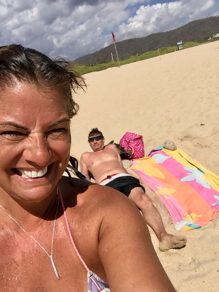 January 3rd, 2020 - Huatulco, Mexico - La Crucecita - Chahue Beach - Last visit to a beach