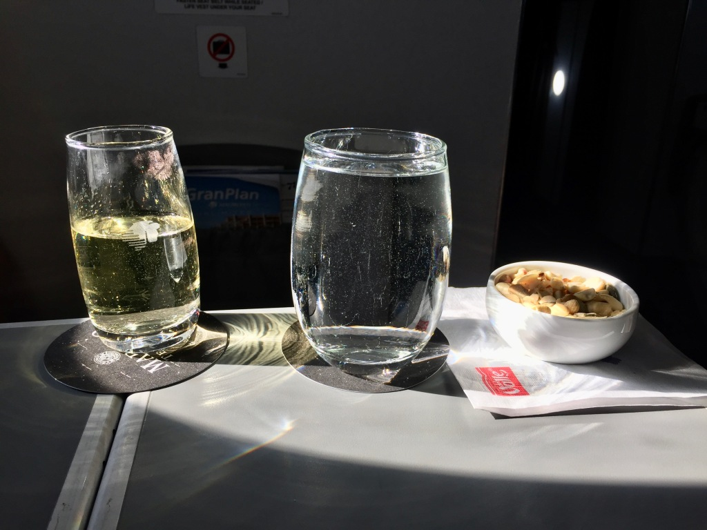 2020 - January 4th - Huatulco to Mexico City - Air Mexico - Upgraded to Business Class