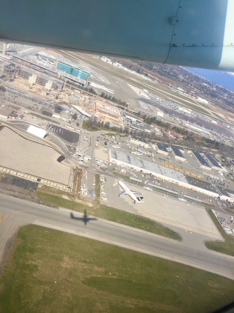 March 14th, 2020 - Vancouver International Airport - Flight to Comox Airport on Vancouver island
