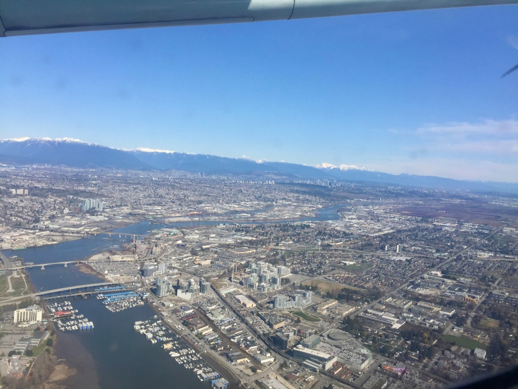 March 14th, 2020 - Vancouver International Airport - Flight to Comox Airport on Vancouver island - Richmond, British Columbia