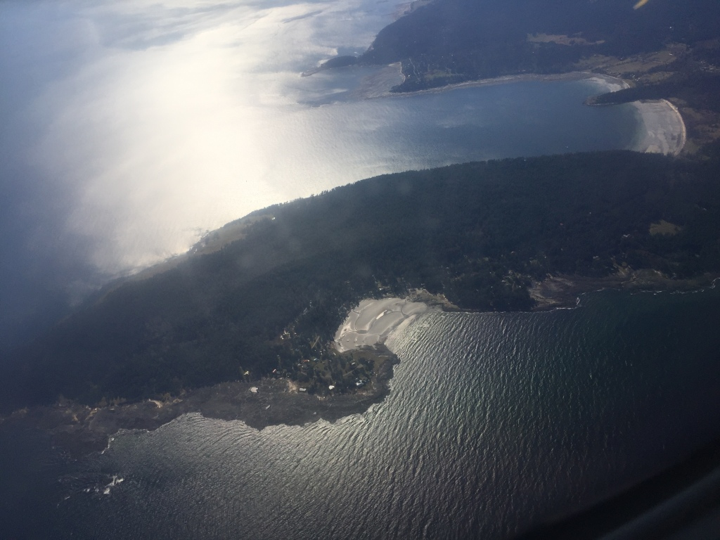 March 14th, 2020 - Flight from the mainland to Vancouver Island