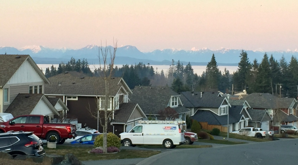 March 20th - Campbell River, Vancouver Island - Walking around the block!