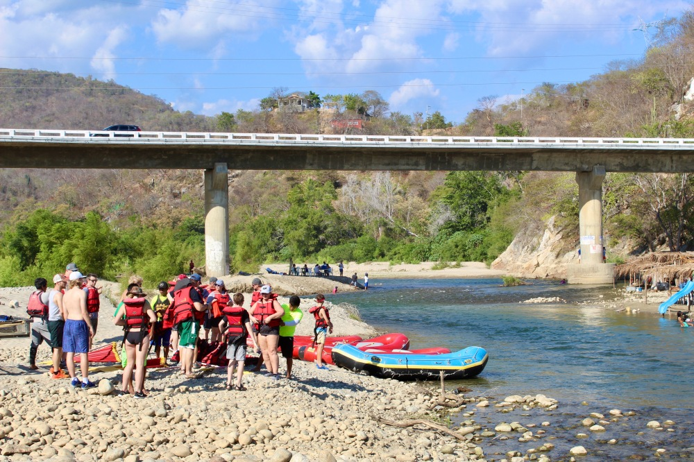 January 2nd, 2020 - Huatulco, Mexico - Copalita River - River Rafting