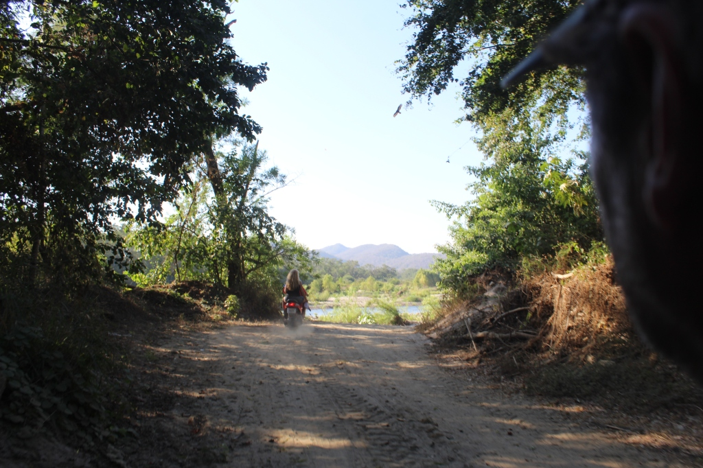 January 2nd, 2020 - Huatulco, Mexico - Looking for the town of Copalita - Heading back to the crossroads - where we took the wrong road!