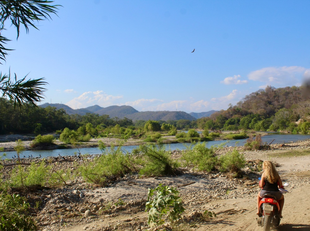 January 2nd, 2020 - Huatulco, Mexico - Looking for the town of Copalita - Heading back to the crossroads - Beautiful scenery!