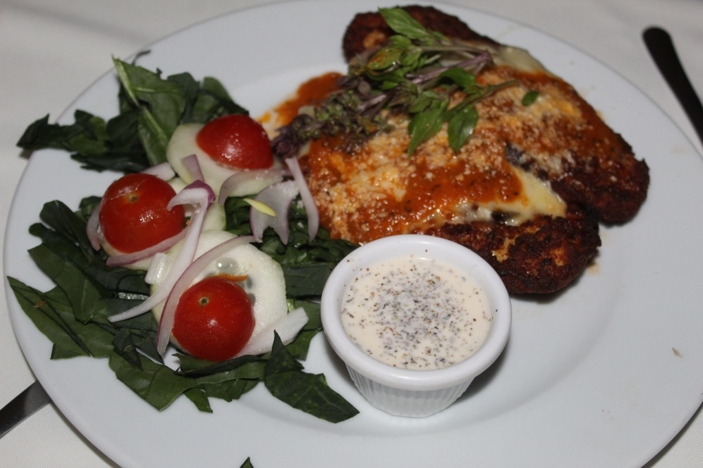 January 2nd, 2020 - Huatulco, Mexico - La Crucecita - Terra Cotta Restaurant - Chicken Parmesan