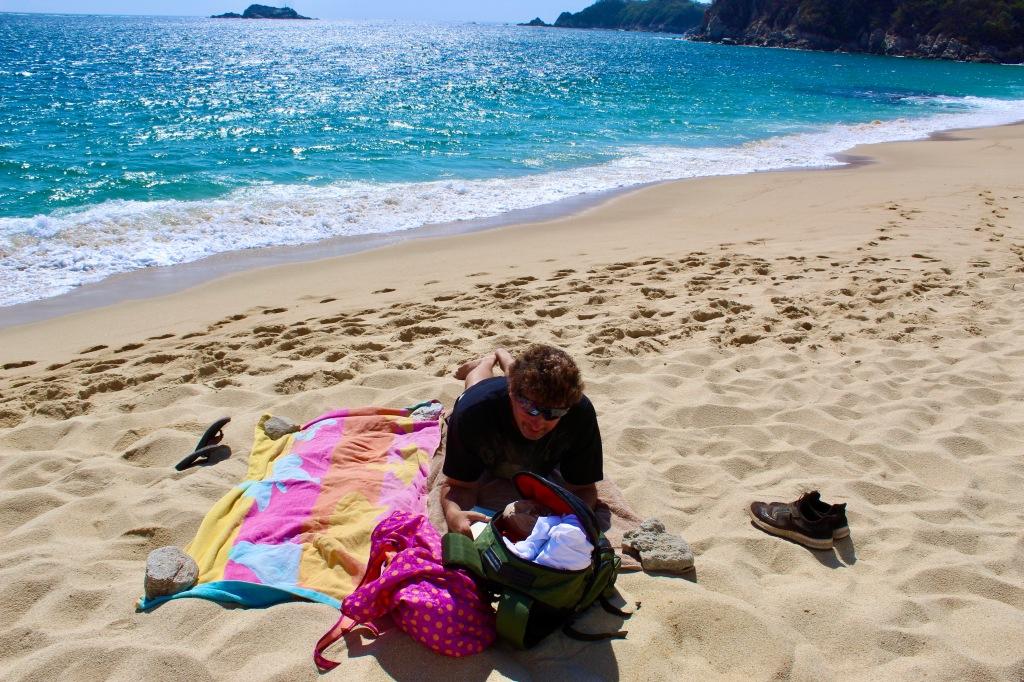 January 3rd, 2020 - Huatulco, Mexico - La Crucecita - Chahue Beach - Relaxing...