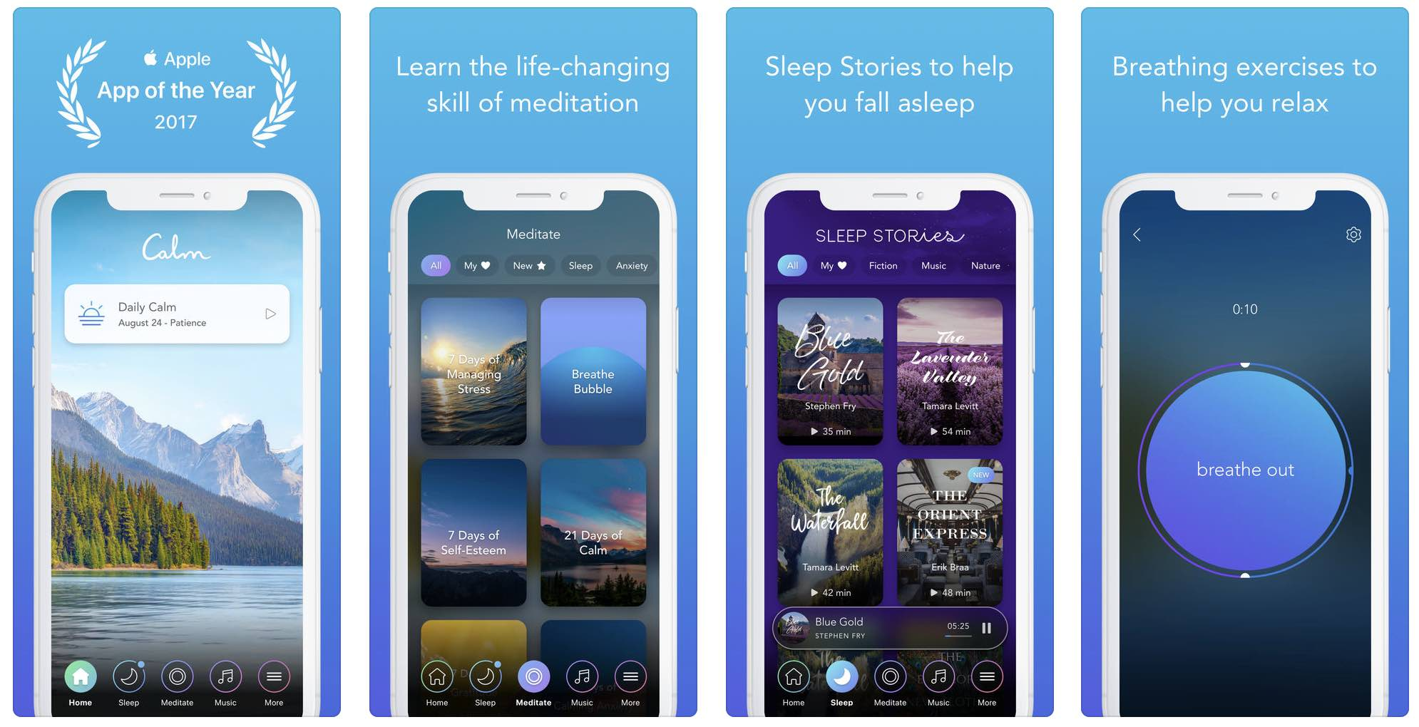 Calm - App for Sleep and Meditation