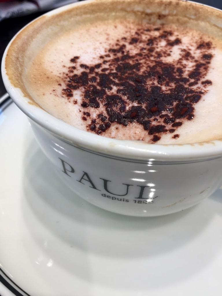 June, 2019 - Qatar - Landmark Mall - Paul - Cappuccino