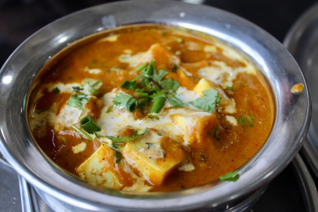 Kochi, Kerala, India - Lunchtime - Paneer Butter Masala