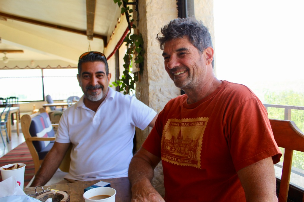 June, 2020 - Jordan - Walid, our driver and Michael