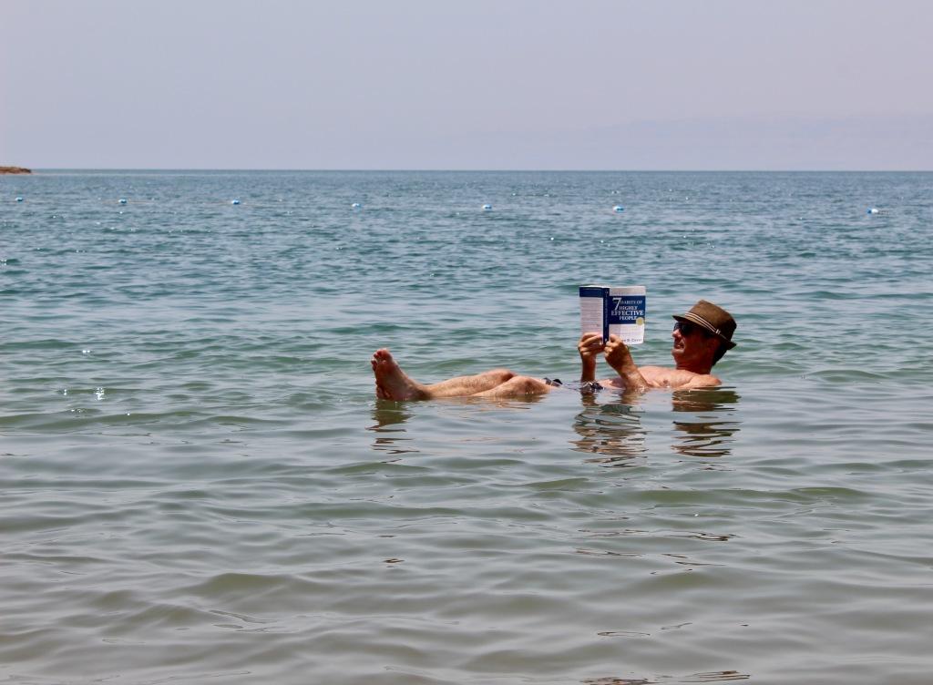 June, 2020 - Jordan - Dead Sea - Floating on the Dead Sea