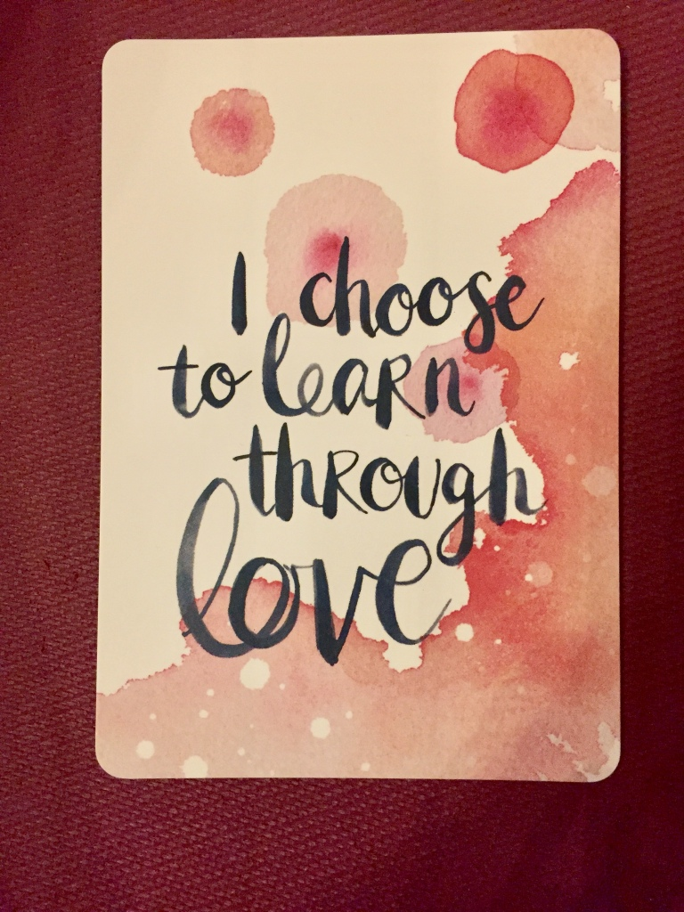 February/March - 2020 - Card from mini-women's retreat