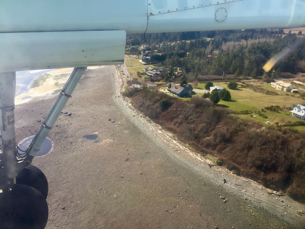 March - 2020 - Flying into Comox, Vancouver Island