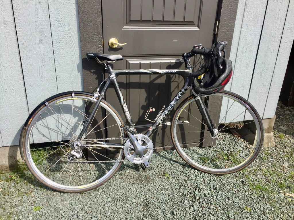 March - 2020 - Campbell River - We bought a bike!