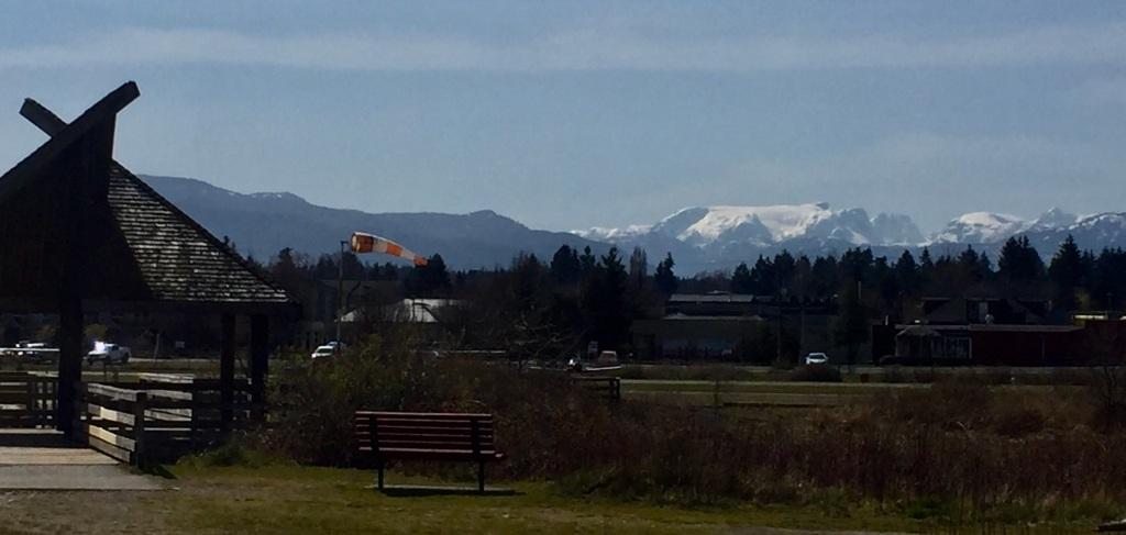 Wednesday - Walk in Courtenay Airpark - Comox Glacier