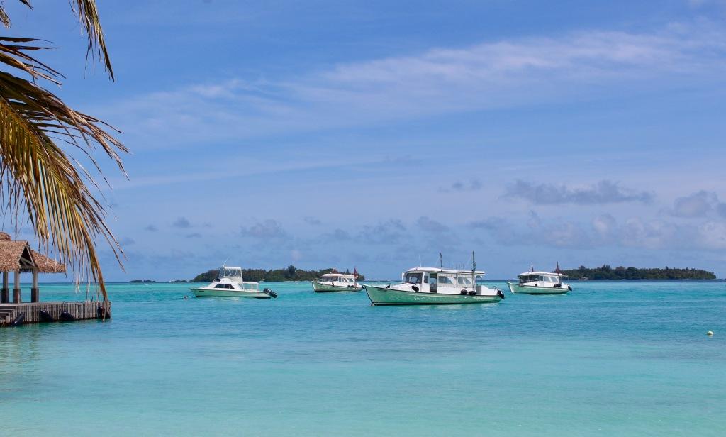 June - 2020 - Maldives - Boats off the beach