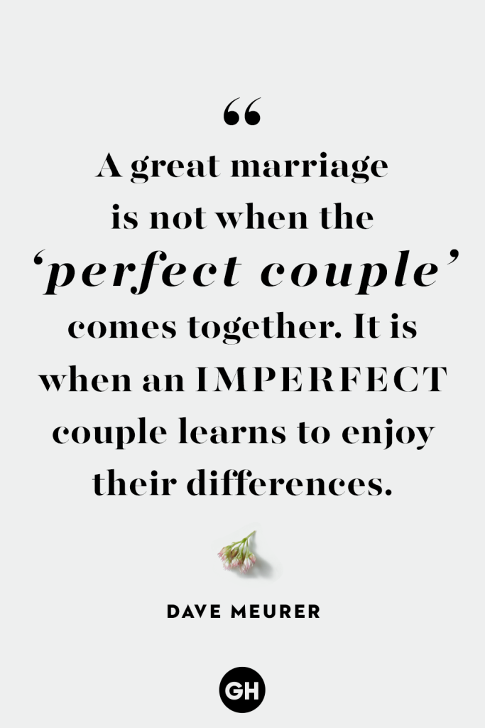 Marriage Quote - Celebrating Differences - Dave Meurer