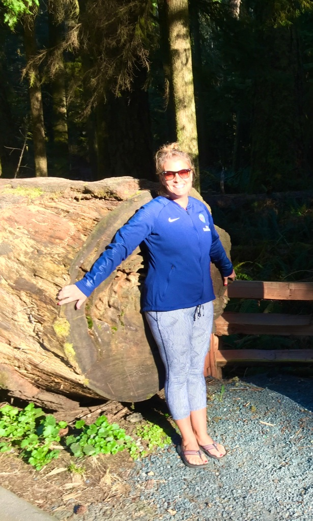 April, 2020 - Nanaimo, Vancouver Island, British Columbia - Cathedral Trail - We were unable to enter this provincial rainforest park, is was closed because of COVID-19. All pictures were taken at the entrance of the park.