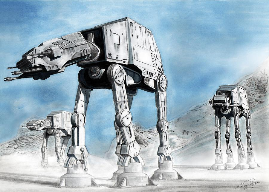 AT-AT Walkers or Imperial Snow Walkers