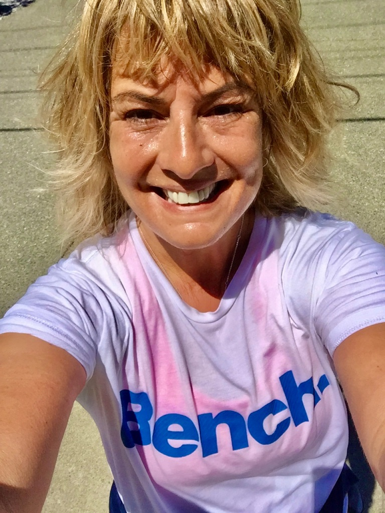 June, 2020 - Campbell River, Vancouver Island, British Columbia - Post 13km run selfie of happiness!!!!