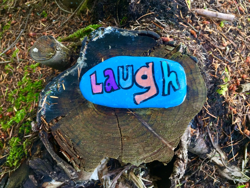June, 2020 - Campbell River, Vancouver Island, British Columbia - Laugh