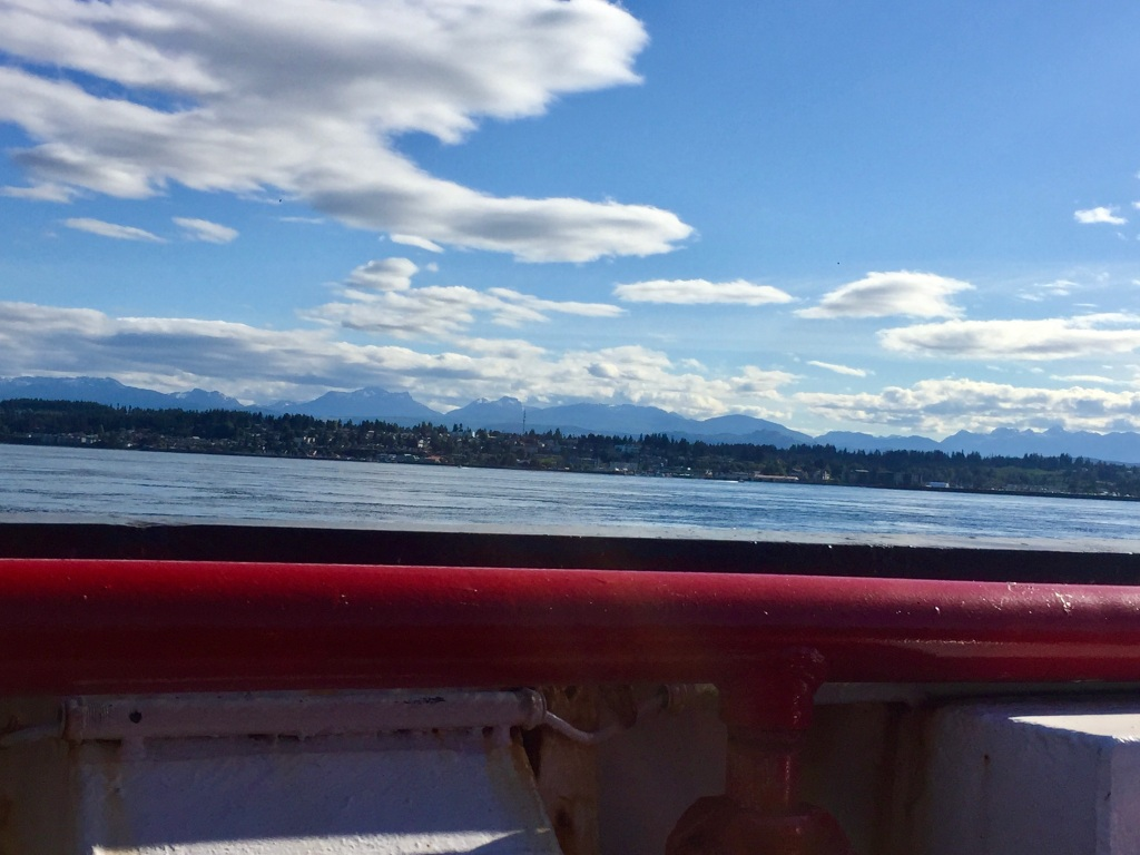 July 24 - BC Ferries ride from Quadra Island to Campbell River, British Columbia
