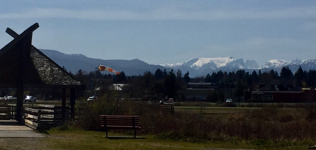 Spring, 2020 - Courtenay, Vancouver Island, British Columbia - The Courtenay Airpark - The Comox Glacier