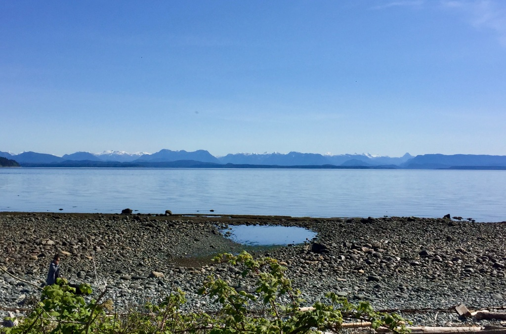 Spring/Summer 2020 - Campbell River, Vancouver Island, British Columbia - Coastal Mountains on the mainland