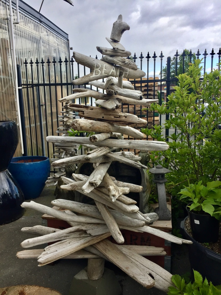 Spring/Summer 2020 - Campbell River, Vancouver Island, British Columbia - Driftwood Art
