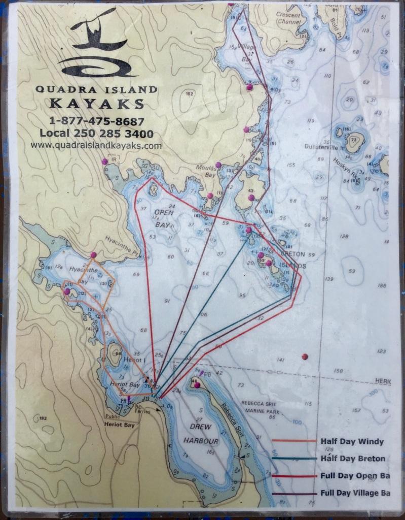 July 16th - Quadra Island, British Columbia - Quadra Island Kayaks