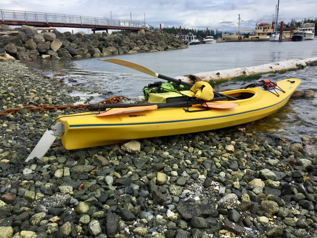 July 16th - Quadra Island, British Columbia - Quadra Island Kayaks - Ready to launch!