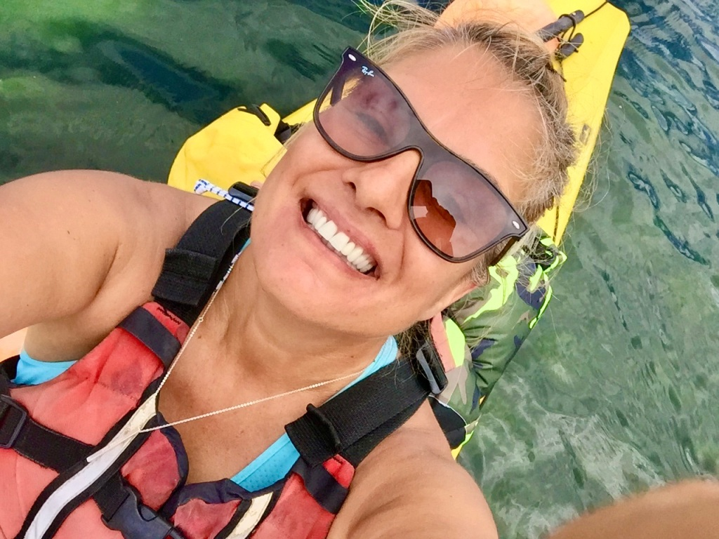 July 16th - Quadra Island, British Columbia - Kayaking - SO happy to be back on the water!!!! My Happy Place!