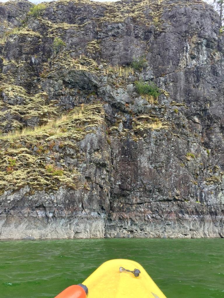 July 16th - Quadra Island, British Columbia - Kayaking - Heriot Island