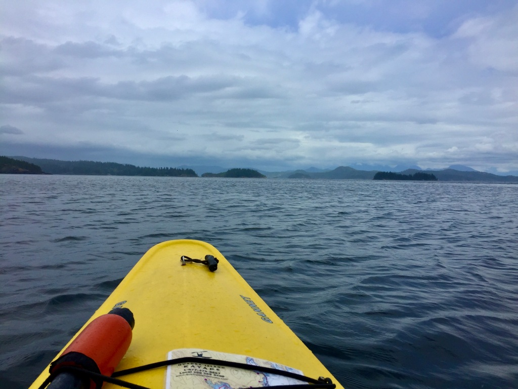 July 16th - Quadra Island, British Columbia - Kayaking - View of the bay