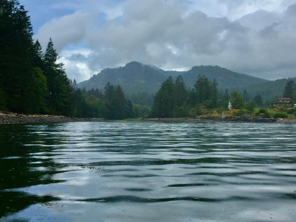 July 16th - Quadra Island, British Columbia - Kayaking - Hyacinthe Bay - Starts to rain