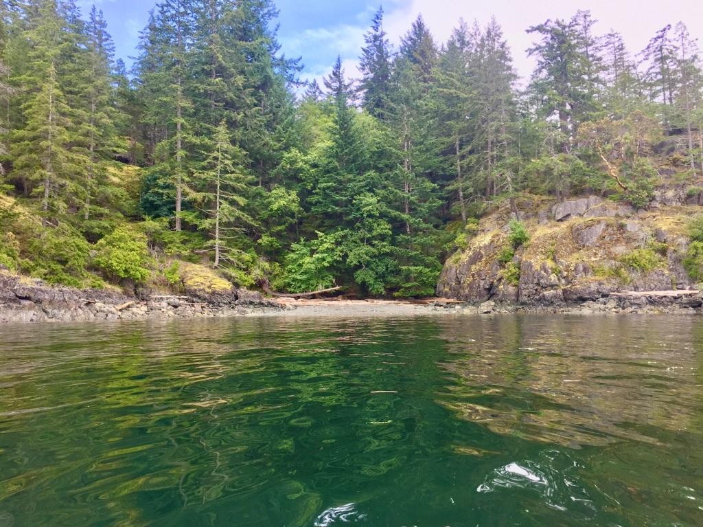 July 16th - Quadra Island, British Columbia - Kayaking - Hyacinthe Bay - Time for lunch!