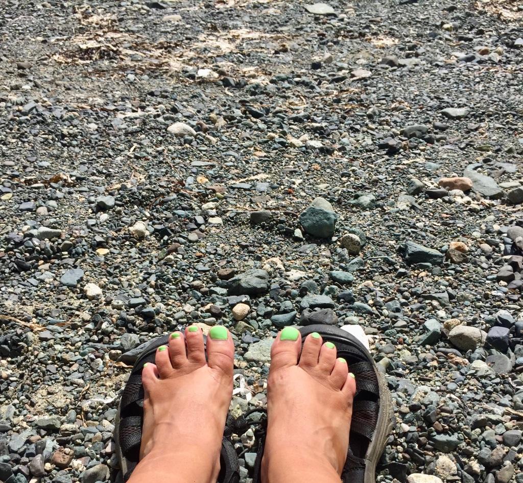 July 16th - Quadra Island, British Columbia - Kayaking - Hyacinthe Bay - Michael!