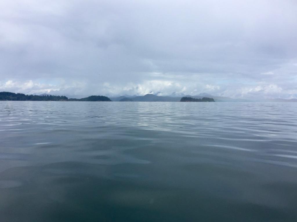 July 16th - Quadra Island, British Columbia - Kayaking - Complete stillness
