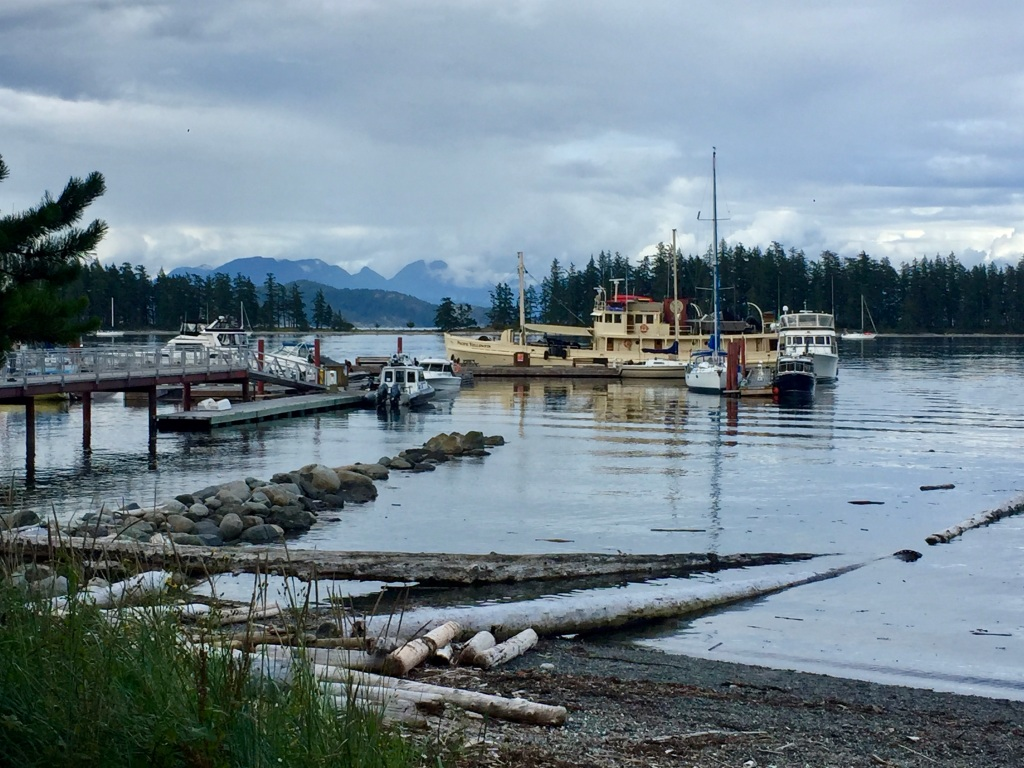 July 16th - Quadra Island, British Columbia - Kayaking - Arriving back to the dock