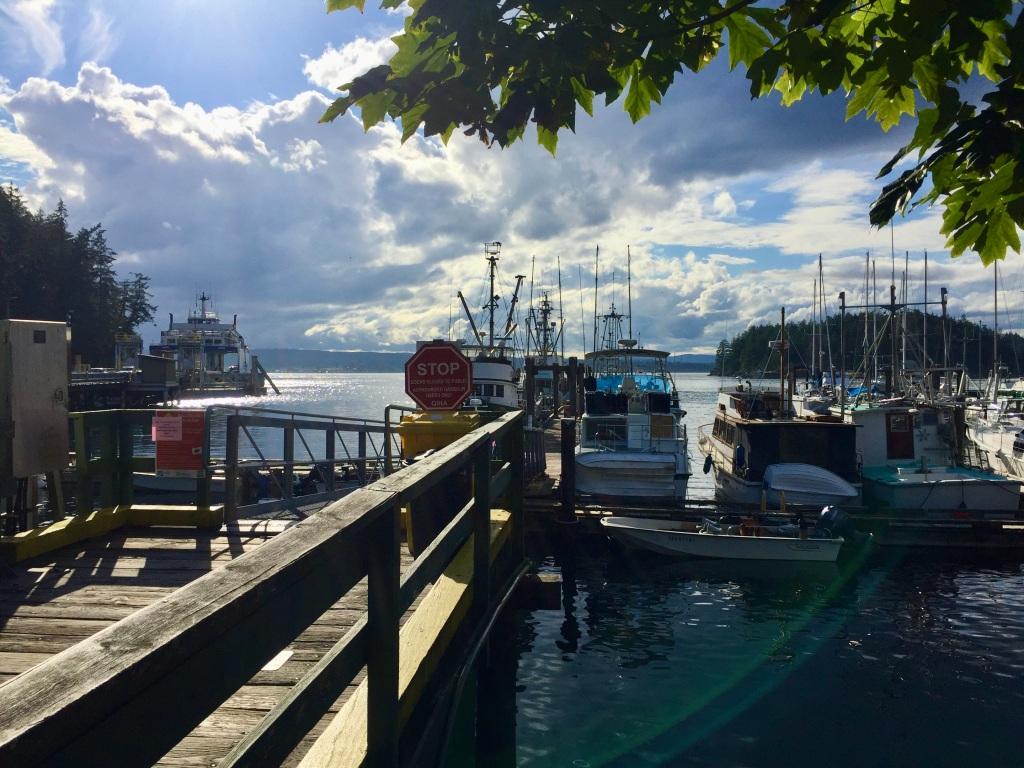 July 16th - Quadra Island, British Columbia - Quathiaski Bay