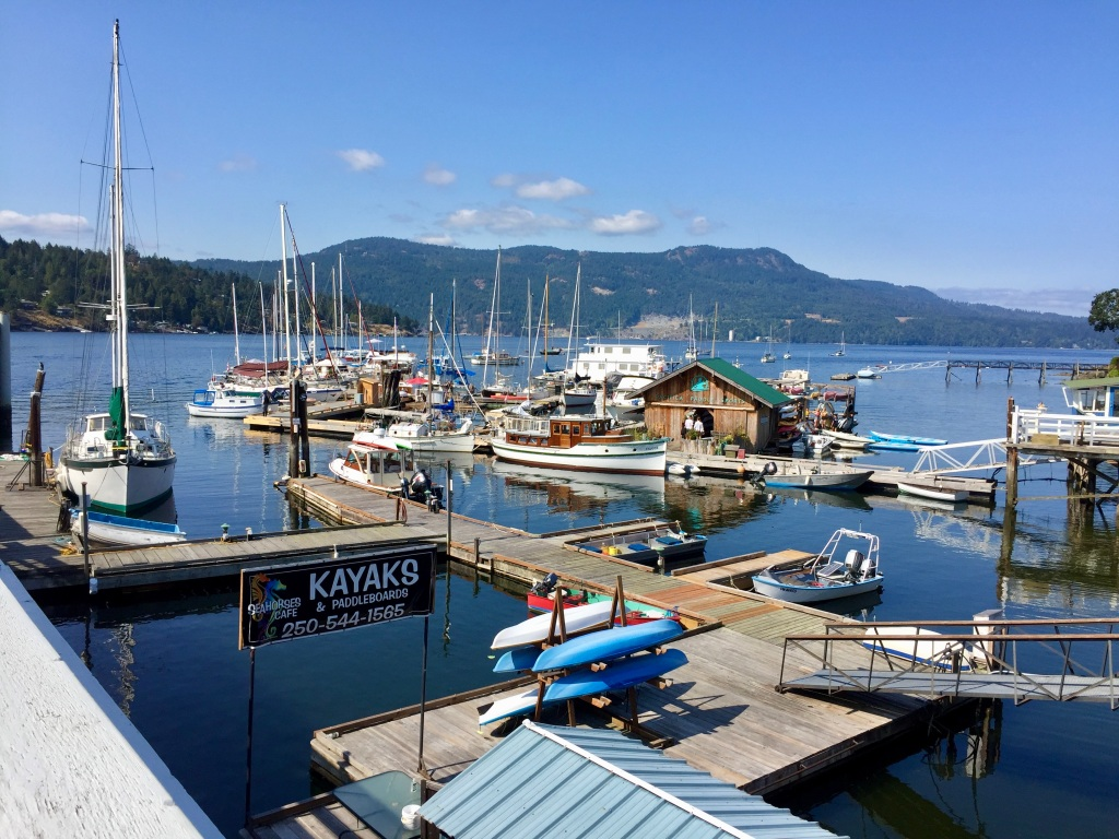 August/September, 2020 - Central Saanich, Vancouver Island, British Columbia - Marina