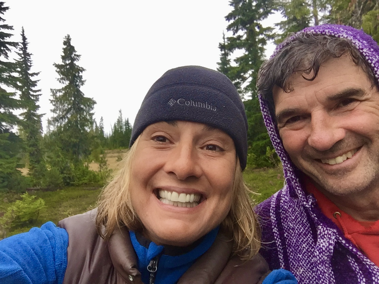 September, 2020 - Vancouver Island, British Columbia - Strathcona Provincial Park - Forbidden Plateau - Alpine Couple!
