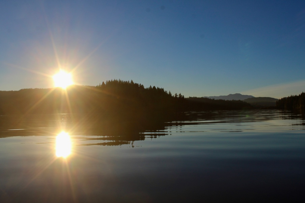 September, 2020 - Quatsino Sound, Vancouver Island, British Columbia - Sunrise