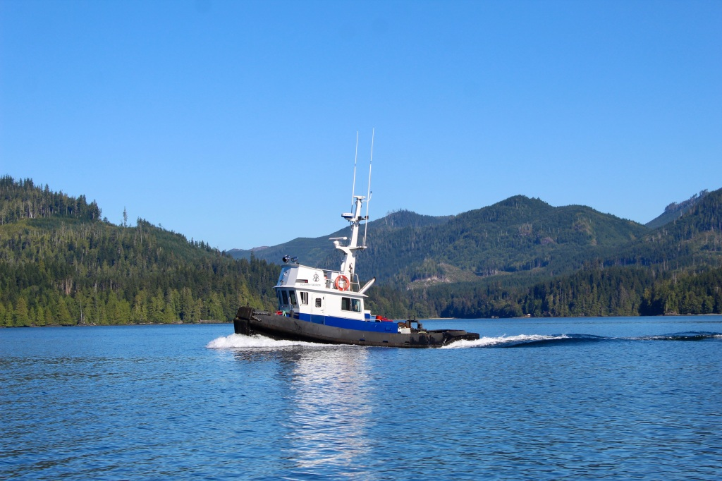September, 2020 - Quatsino Sound, Vancouver Island, British Columbia