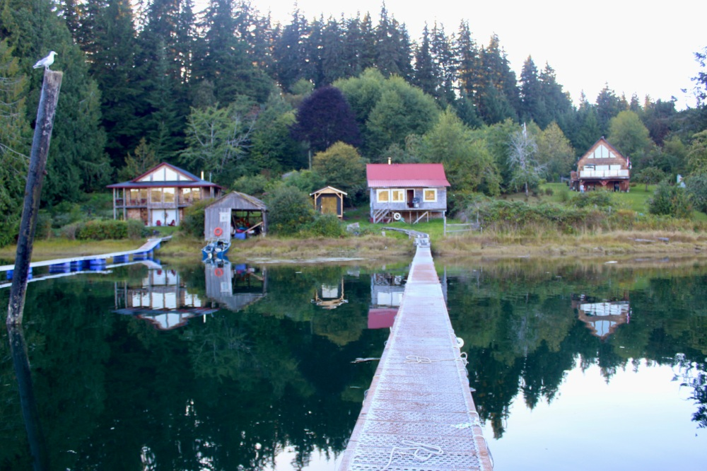 September, 2020 - The Rustic Fishing Cabin - Hecate Cove, Vancouver Island, British Columbia, Canada