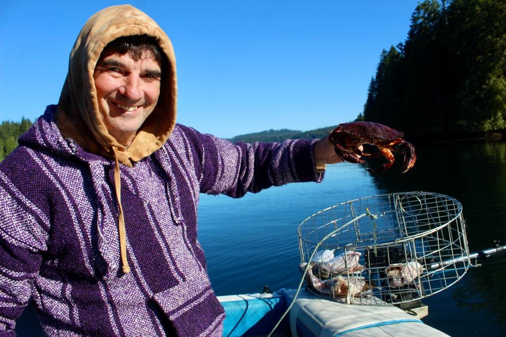 September, 2020 - Quatsino Sound, Vancouver Island, British Columbia - Pacific Red Rock Crab